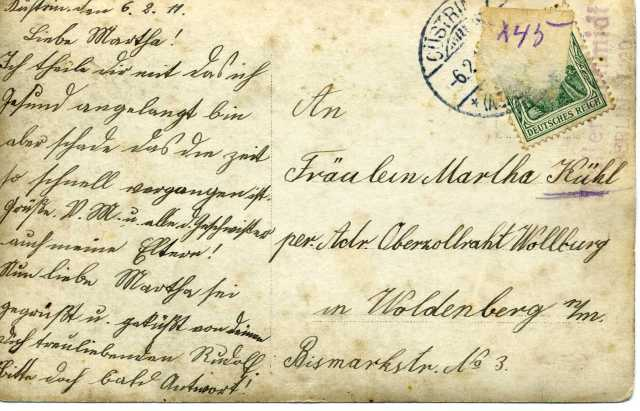 Postkarte 1a